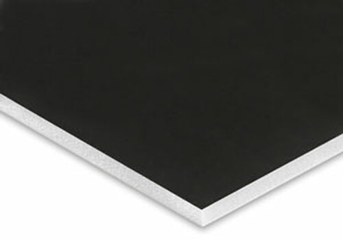 "V-Flat - Black / White - 4' x 8' x 1/2"" (unassembled)"