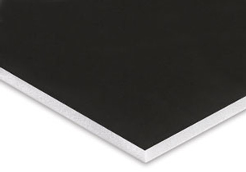 Rental - V-Flat - Black / White - 4' x 8' x 1/2""