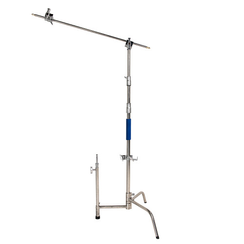 Stainless Steel C Stand w/ Grip Arm Kit  40""