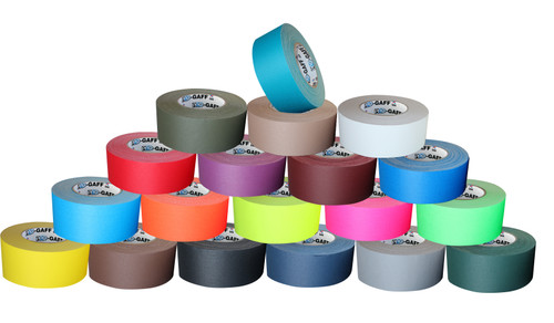 "Pro Gaffers Tape - Black  2"" x 50 Yds"