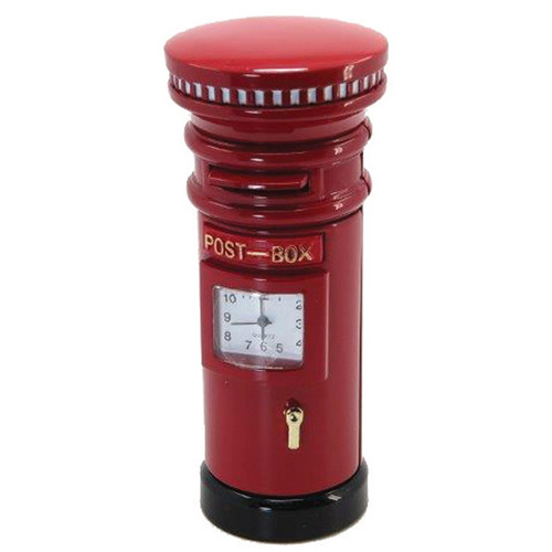 London Postbox Clock