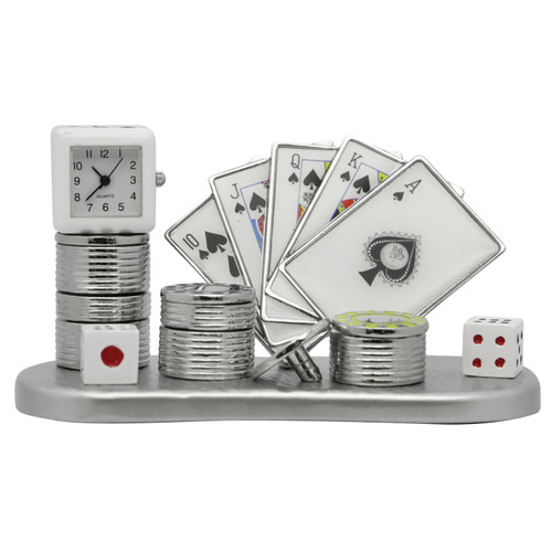 Poker Set Clock
