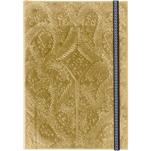 A5 Paseo Journal Gold  | Organiser World