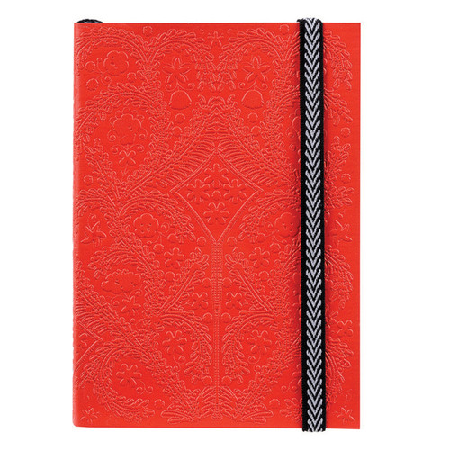 A5 Paseo Journal Scarlet  | Organiser World