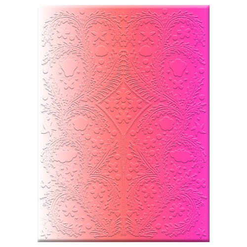 Diecut Boxed Notecard Paseo Ombre Neon  | Organiser World