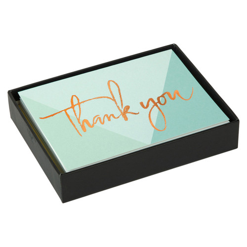 Lux Thank You Note Card Lovely Day  | Organiser World