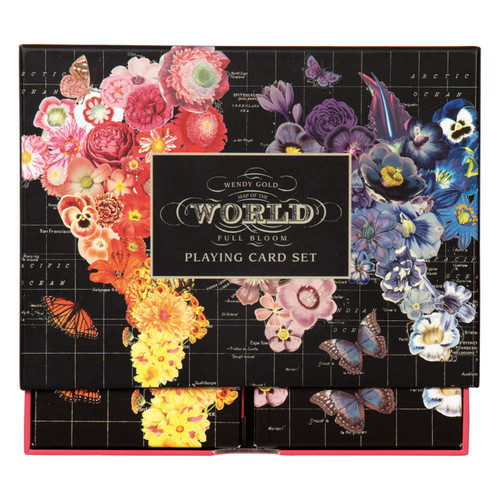 Playing Cards Full Bloom - Wendy Gold | Organiser World