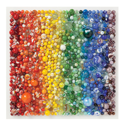 Puzzle 500 Rainbow Marbles  | Organiser World