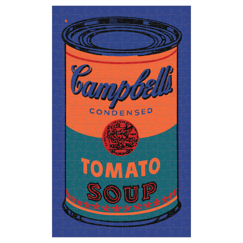 Puzzle 300 Andy Warhol Soup Can - Orange  | Organiser World