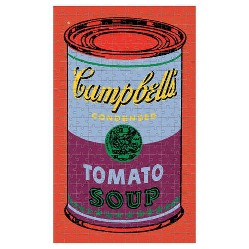 Puzzle 300 Andy Warhol Soup Can - Red | Organiser World
