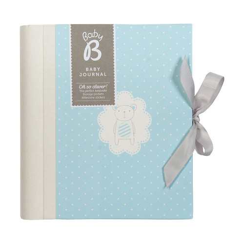 Baby B Journal Blue | Organiser World