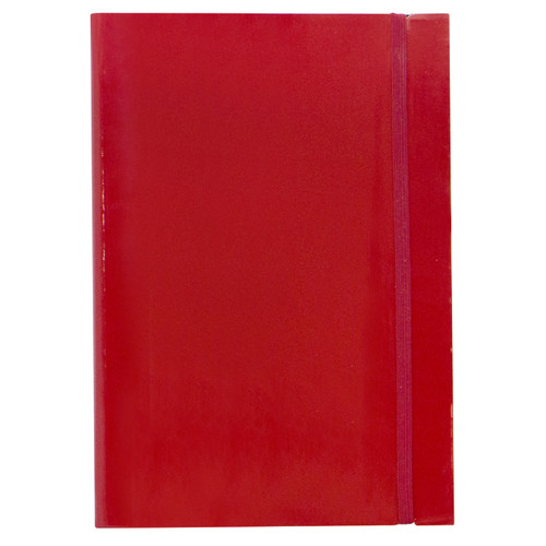 Journal A5 Patent Red  |  Organiser World