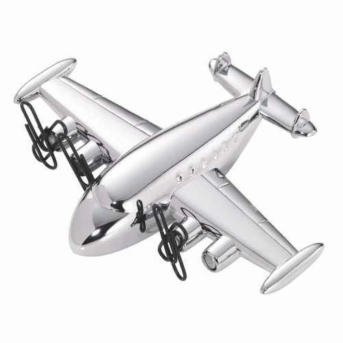 Paper Clip Holder & Paper Weight Airliner