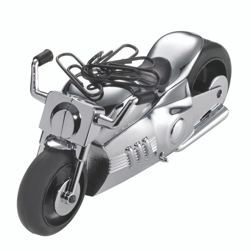 Paper Clip Holder & Paper Weight Motorcycle