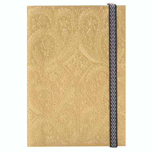 A6 Paseo Journal Gold