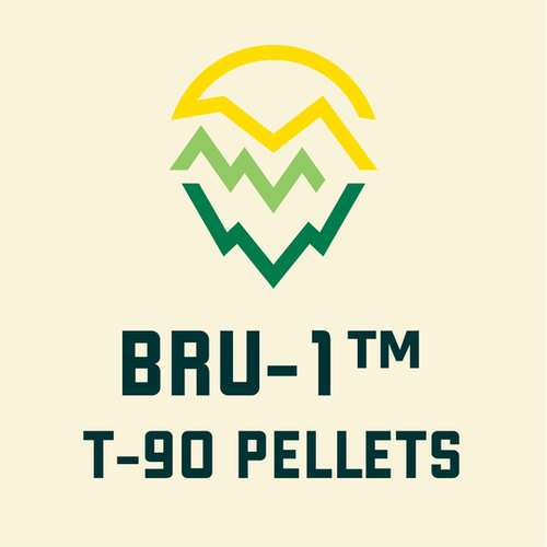 Bru-1 Hops, Yakima Valley,  2 oz