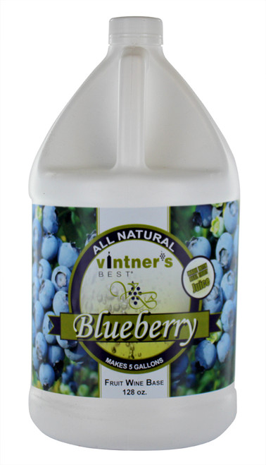 Vintner's Best Blueberry Wine Base, 128 oz