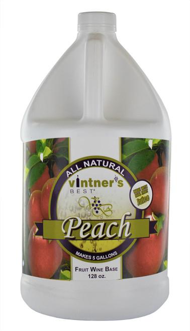 Vintner's Best Peach Wine Base, 128 oz.