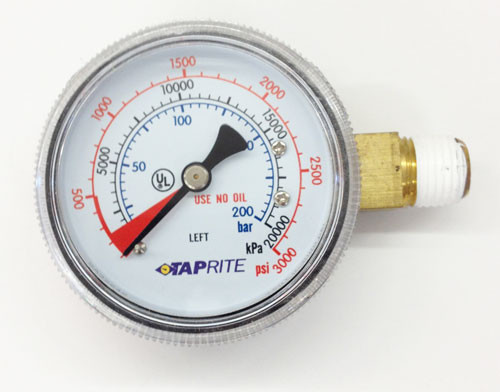 Gauge Replacement High Pressure LHT