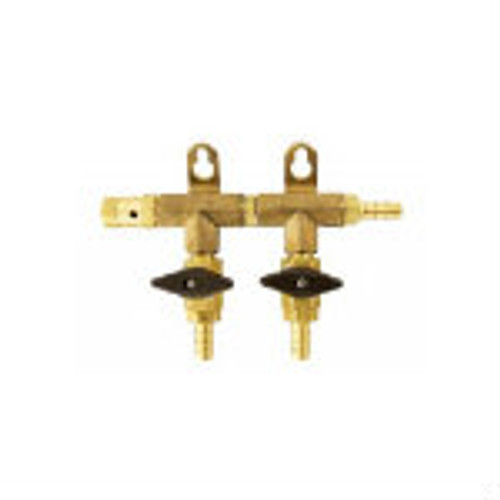 CO2 Distributor - Brass 2 - 6 Ways Gas Manifolds