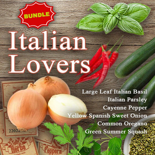 SeedCatalog Italian Lovers Bundle