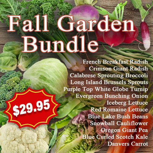 SeedCatalog Fall Garden Bundle