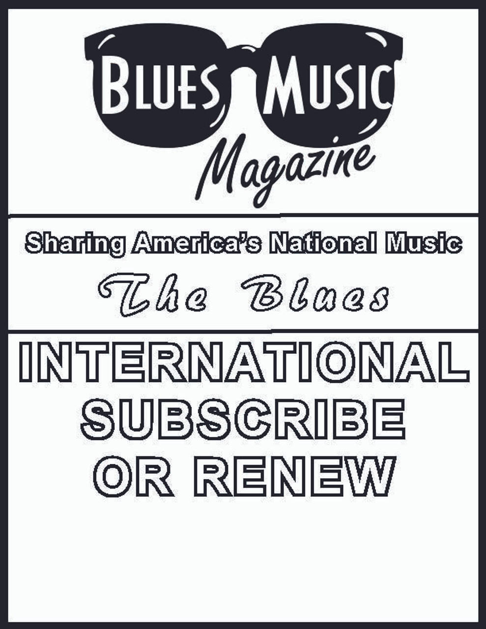 INTERNATIONAL SUBSCRIBE OR RENEW. CLICK TO VIEW OPTIONS.
