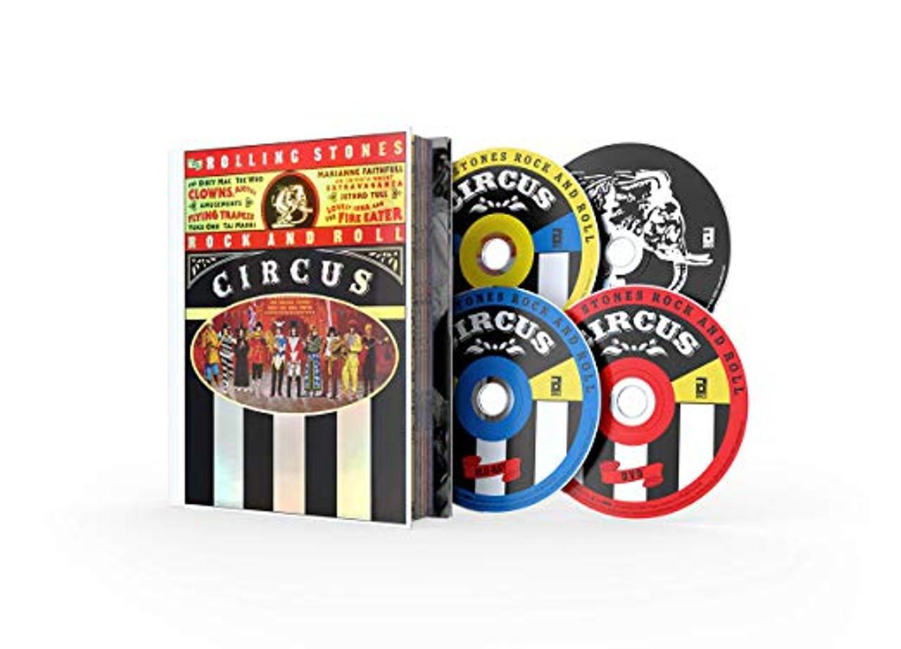 The Rolling Stones - Rock And Roll Circus - 2 CD / 2 DVD + BLU RAY AND  48 PAGE BOOK