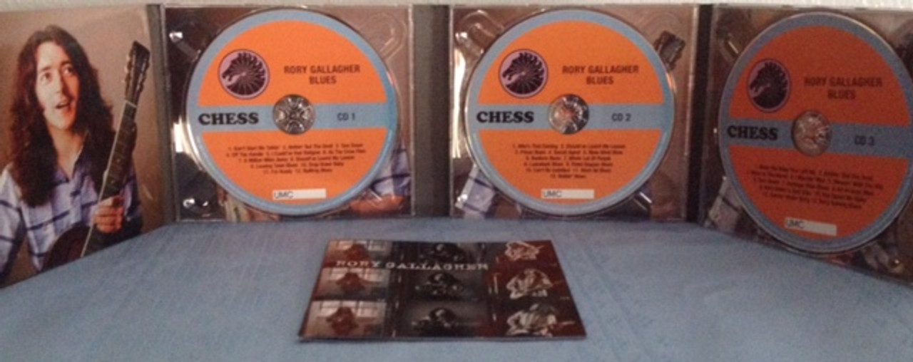 RORY GALLAGHER - BLUES - 3 CD SET