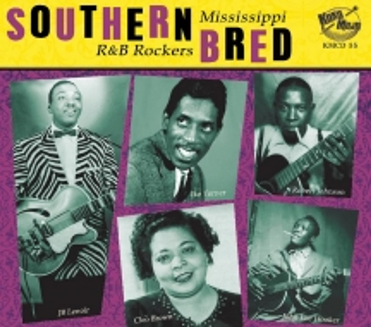 Southern Bred: Mississippi R&B Rockers Vol. 2 - 28 SONGS
