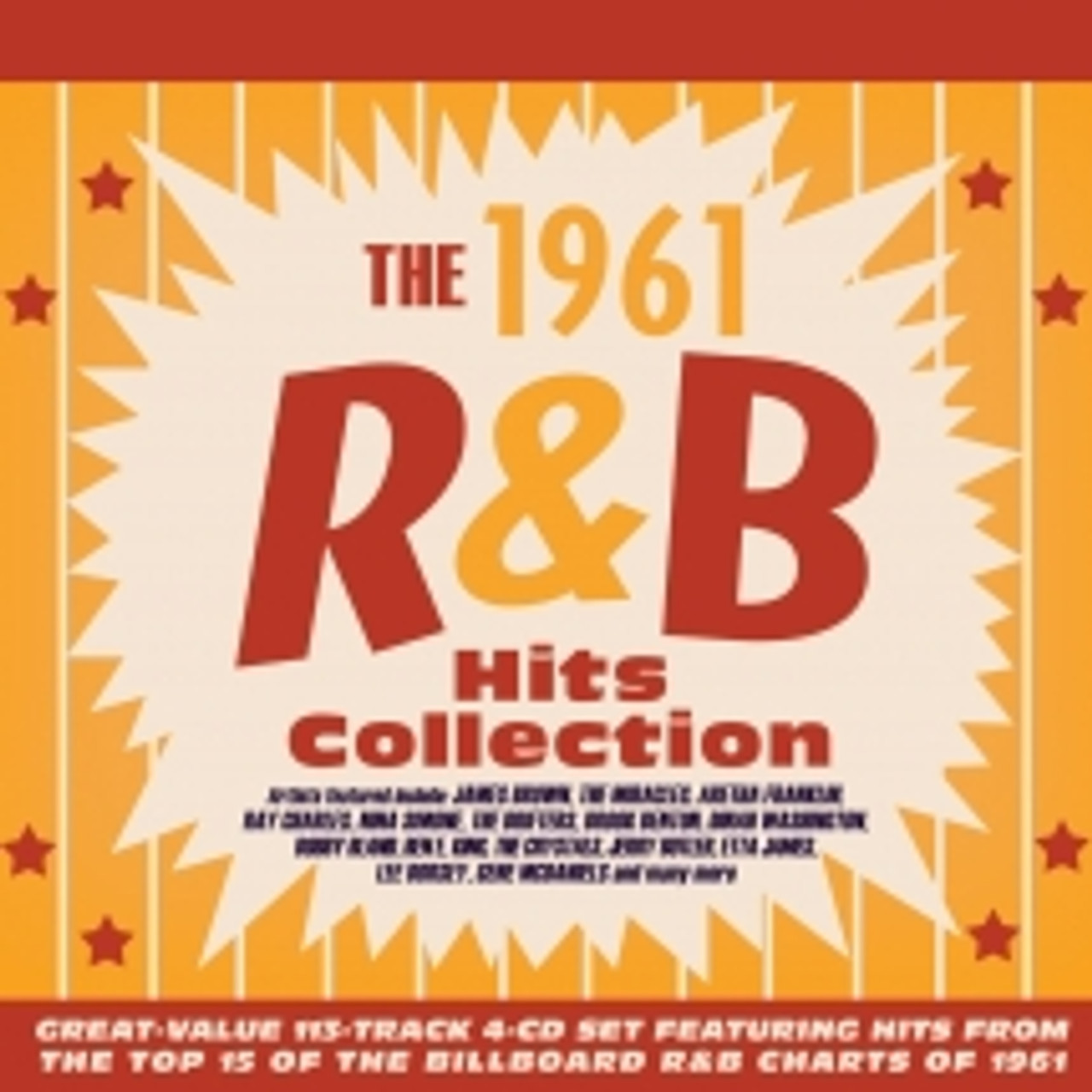 1961 R&B Hits Collection - 4 CD SET - 113 SONGS