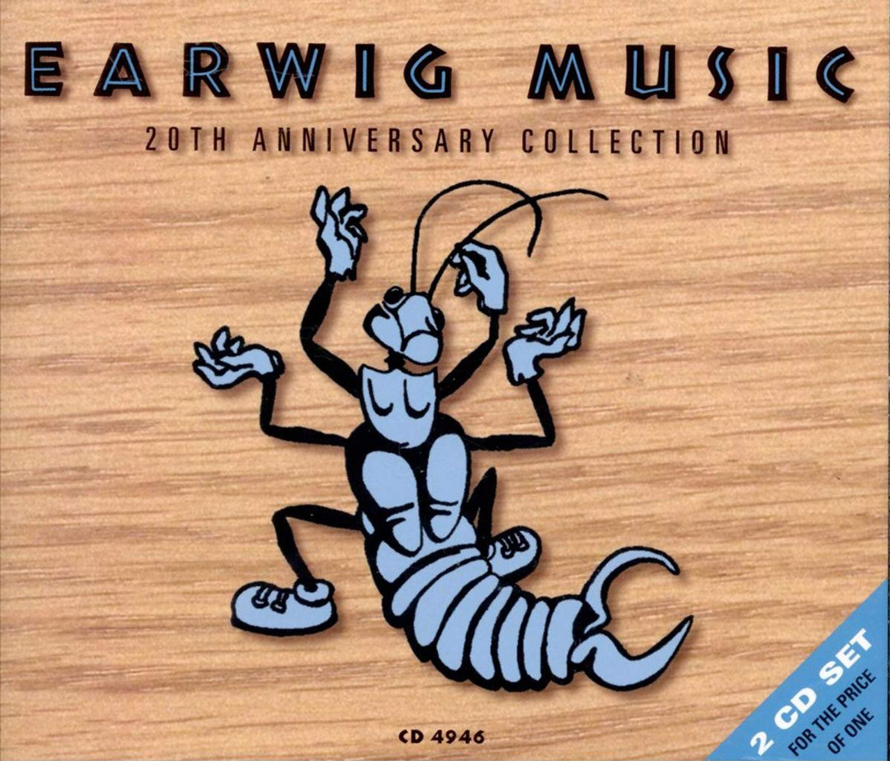 Earwig 20th Anniversary Collection - VARIOUS ARTISTS - 2 CD SET