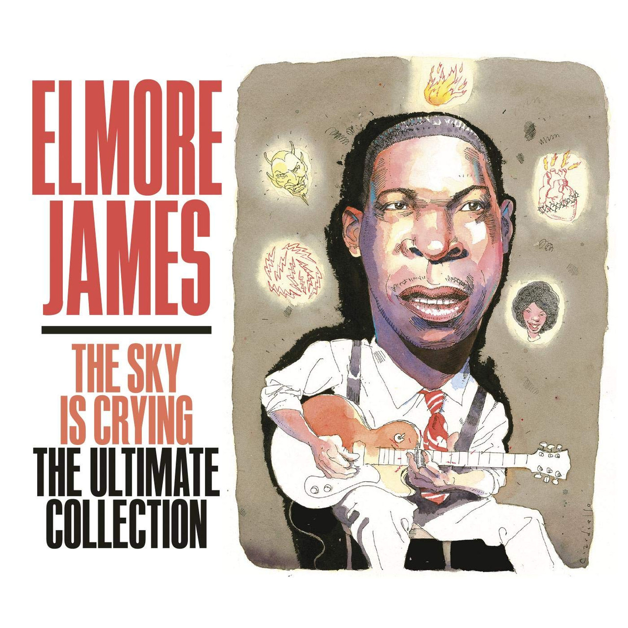 Elmore James - Sky Is Crying The Ultimate Collection - 3 CD SET - 54 SONGS