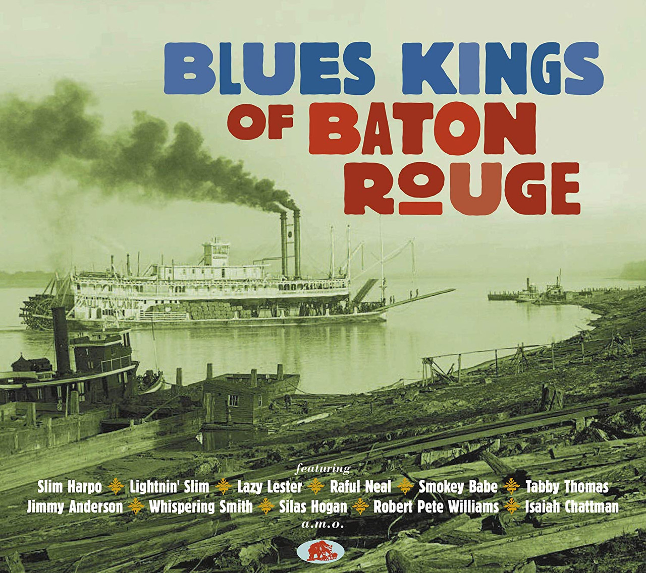 Blues Kings Of Baton Rouge - 2 CD SET - 53 SONGS - 52 PAGE BOOKLET