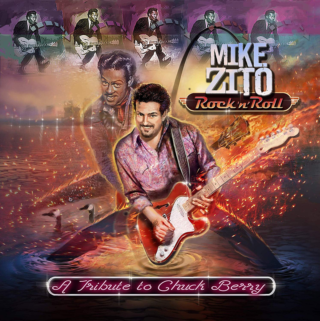 MIKE ZITO - TRIBUTE TO CHUCK BERRY - 20 SONGS & ARTISTS