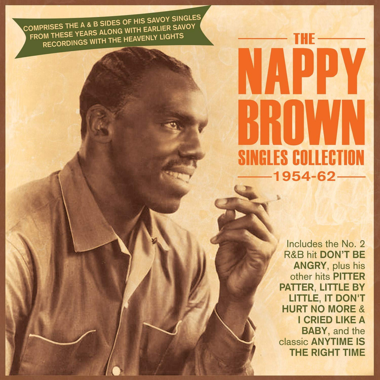 NAPPY BROWN - Singles Collection 1954-62 - 2 CD SET - 52 TRACKS