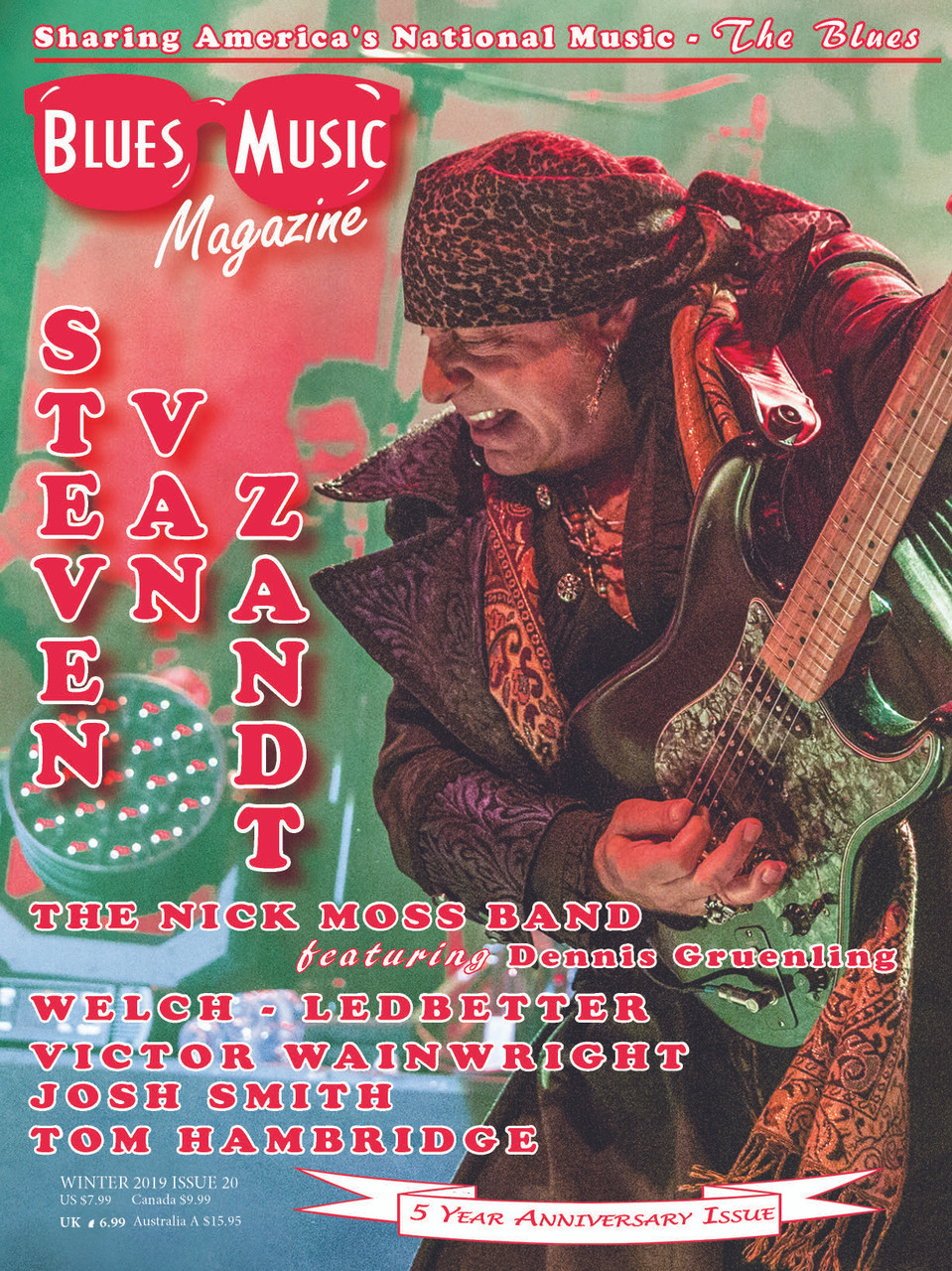 USA ONLY - THE WINTER ISSUE - JANUARY 2019 - SINGLE COPY & FREE SHIPPING
