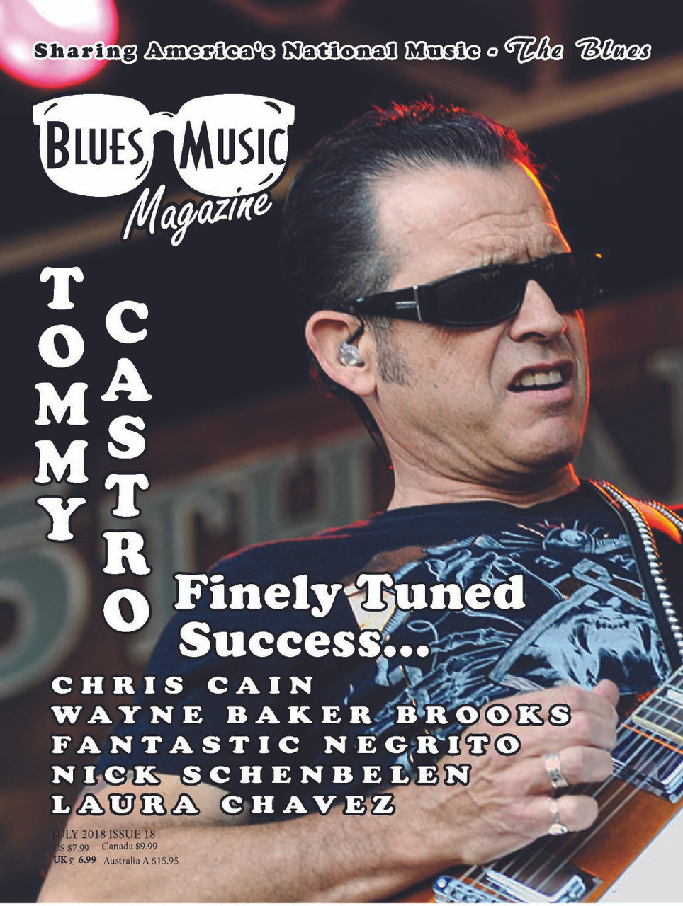 USA ONLY - THE SUMMER  ISSUE - JULY 2018 - SINGLE COPY & FREE SHIPPING