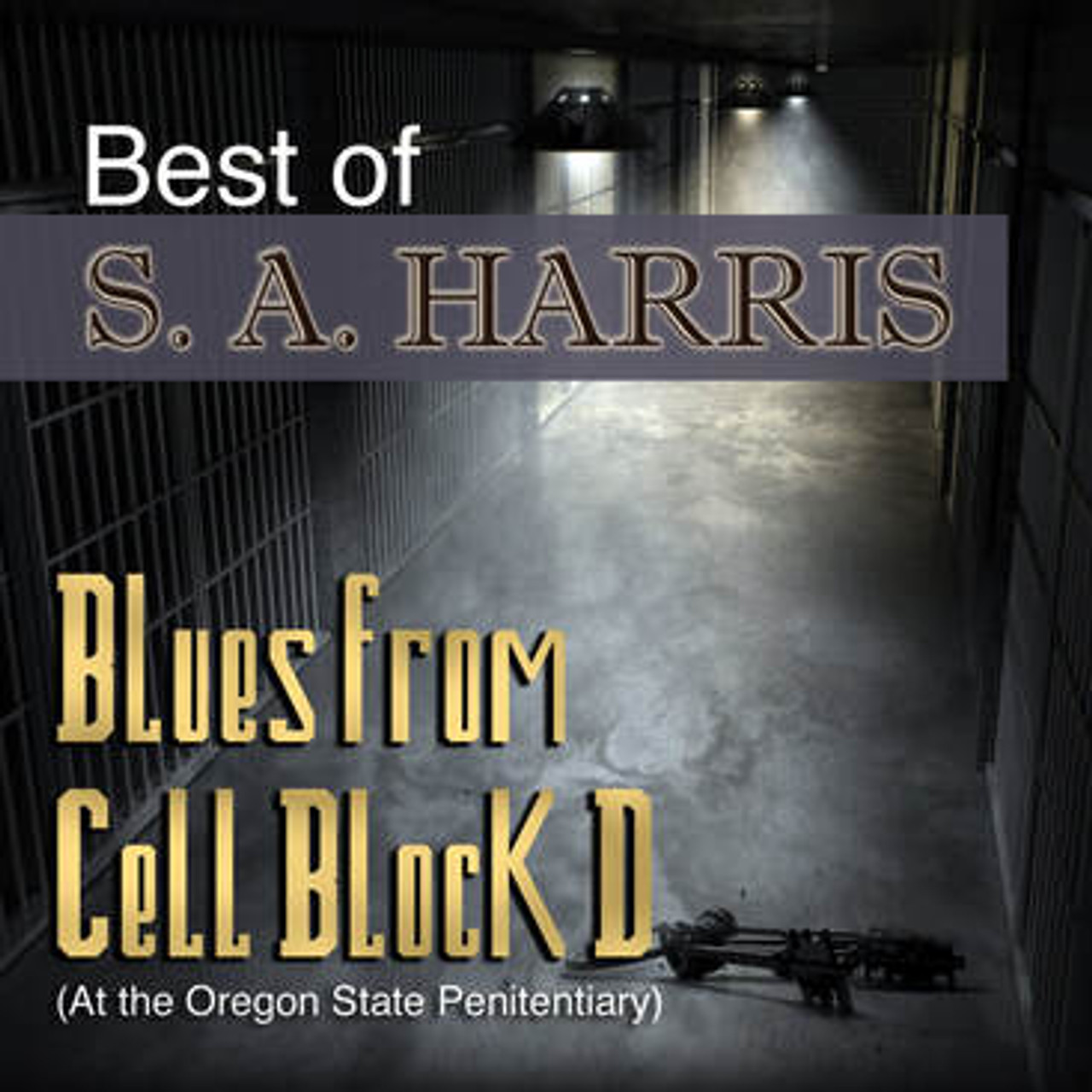 S.A. HARRIS - BLUES FROM CELL BLOCK D
