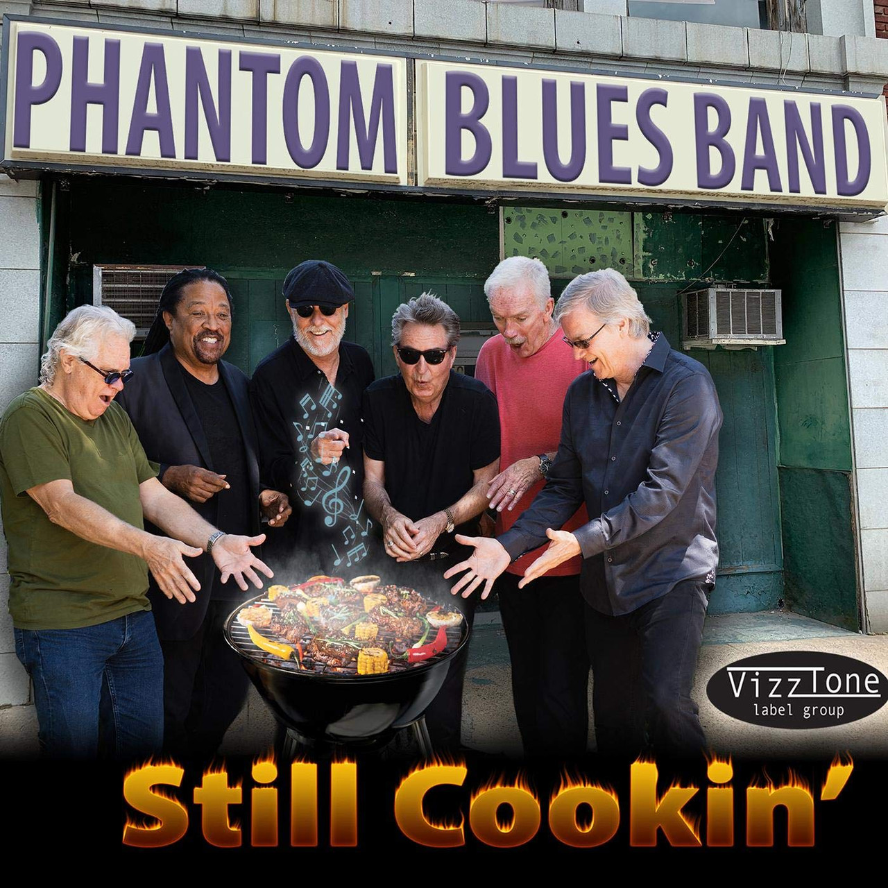 PHANTOM BLUES BAND - Still Cookin'
