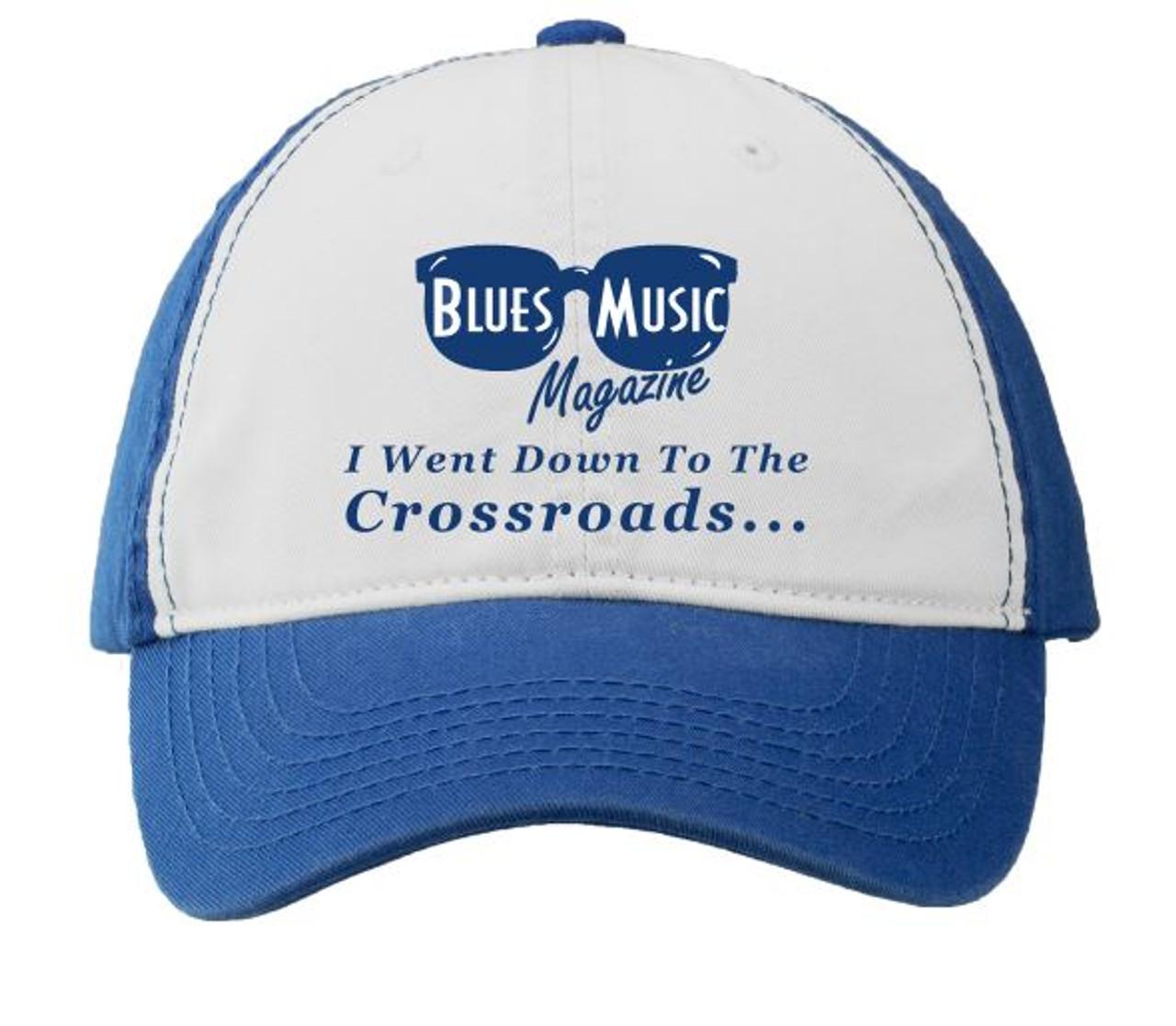 BLUES MUSIC MAGAZINE CROSSROADS ROYAL