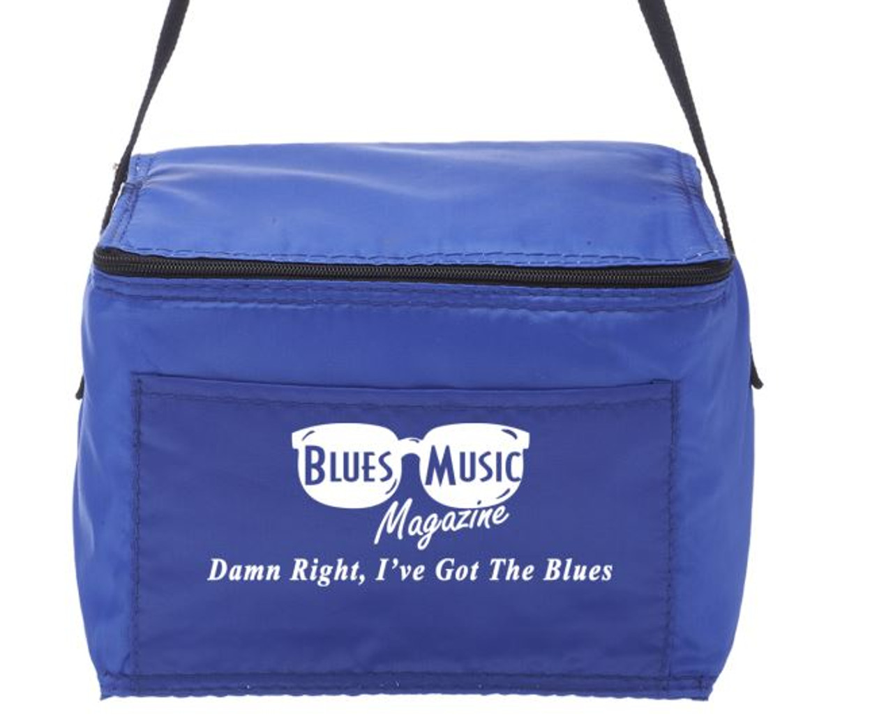 BLUES MUSIC MAGAZINE 6 Pack Cooler Lunch Bags