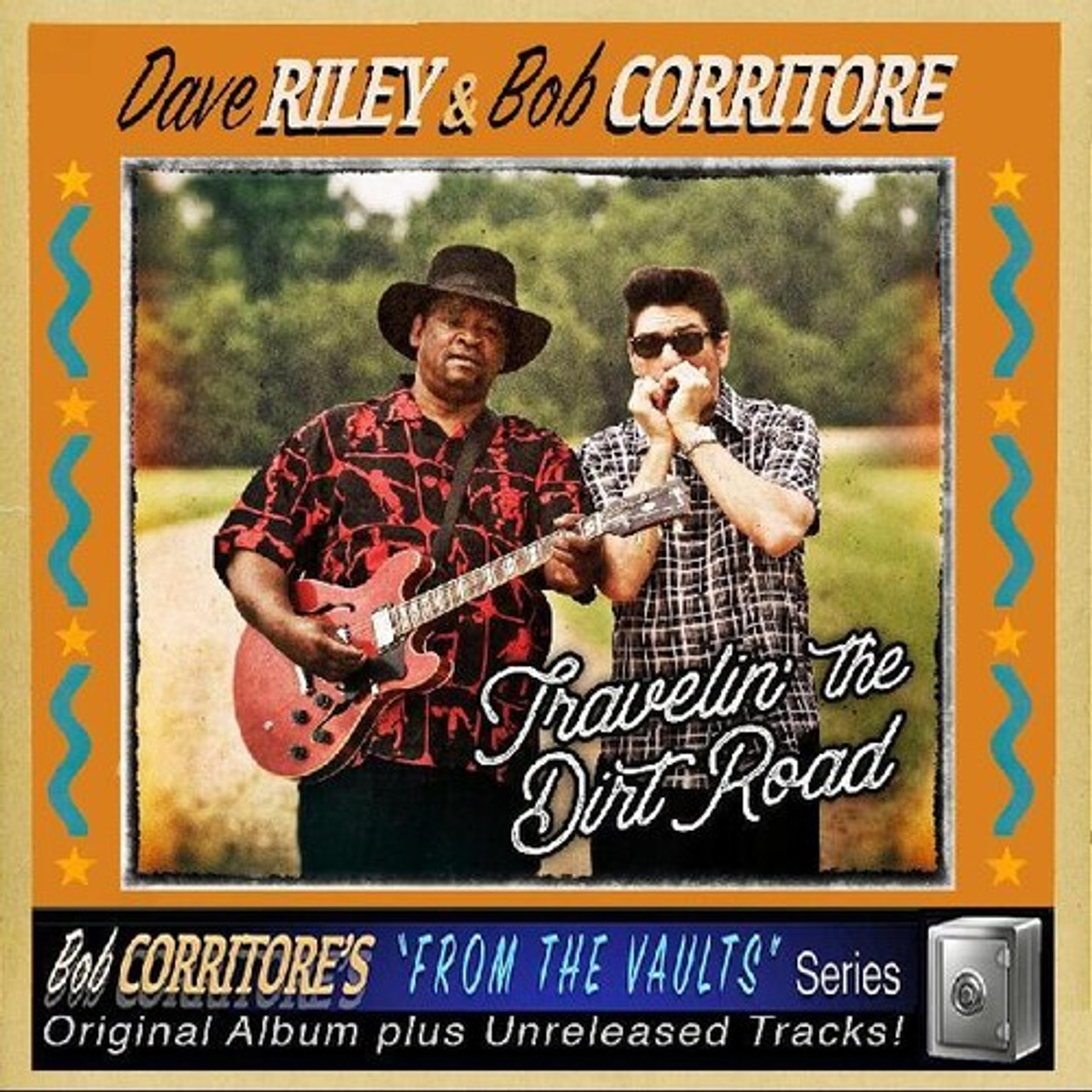 BOB CORRITORE/DAVE RILEY - TRAVELIN' THE DIRT ROAD