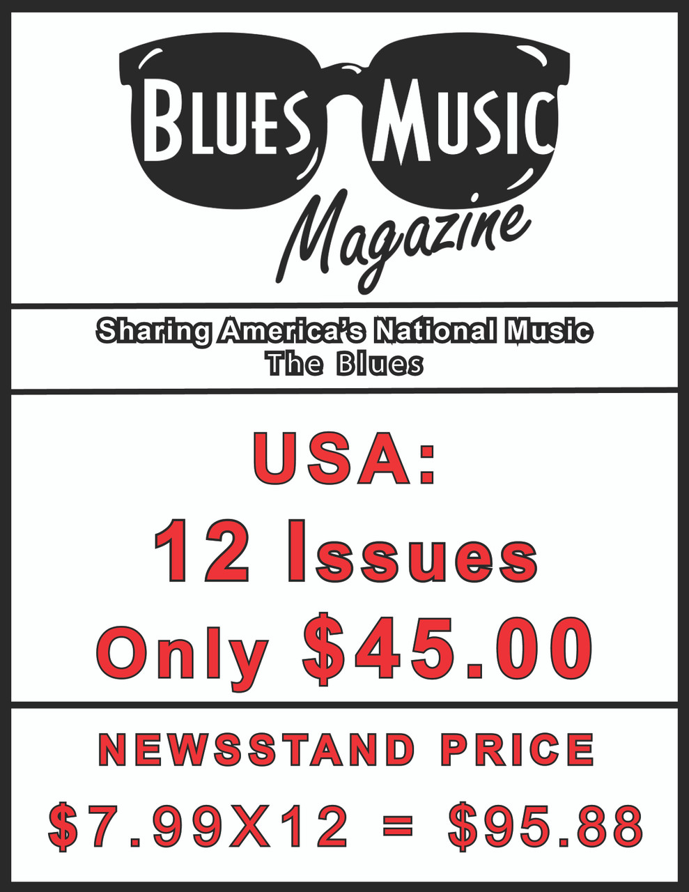 USA SUBSCRIBE OR RENEW FOR 12 ISSUES = 3 YEARS