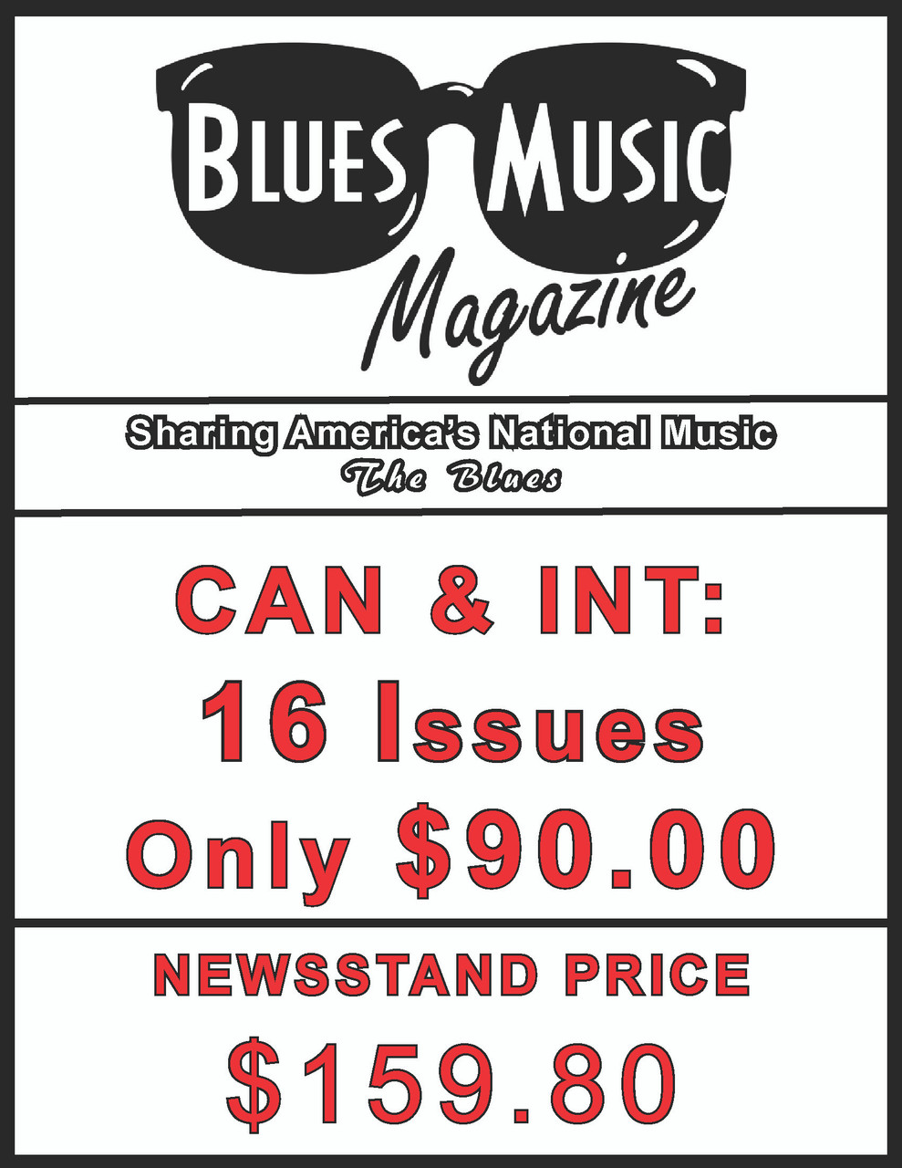 CAN & INT. SUBSCRIBE OR RENEW FOR 16 ISSUES = 4 YEARS