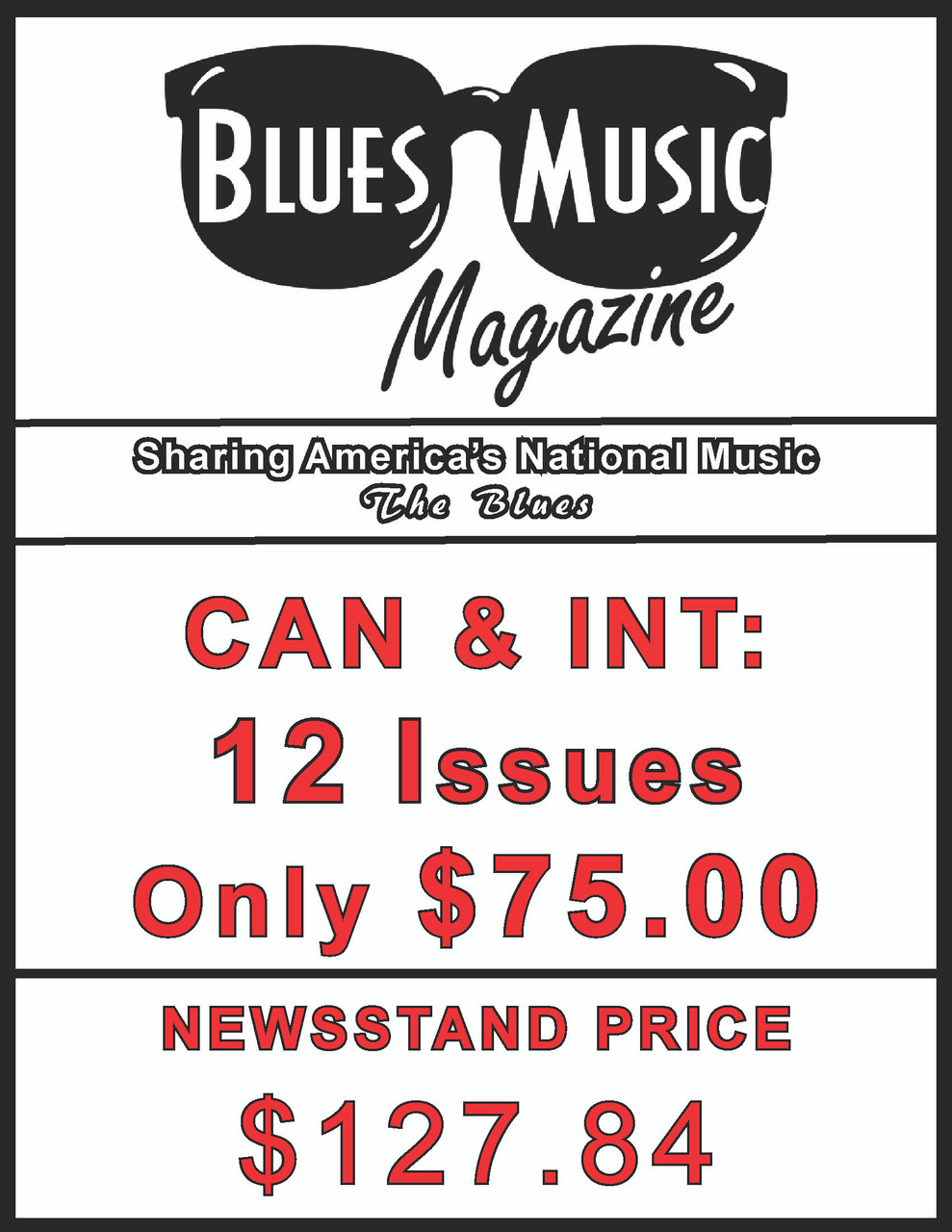 CAN & INT. SUBSCRIBE OR RENEW FOR 12 ISSUES = 3 YEARS