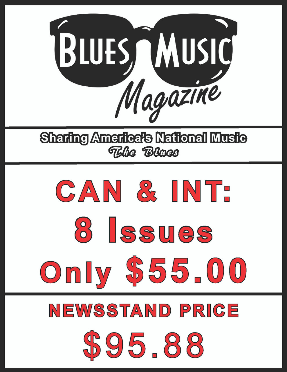 CAN & INT. SUBSCRIBE OR RENEW FOR 8 ISSUES = 2 YEARS