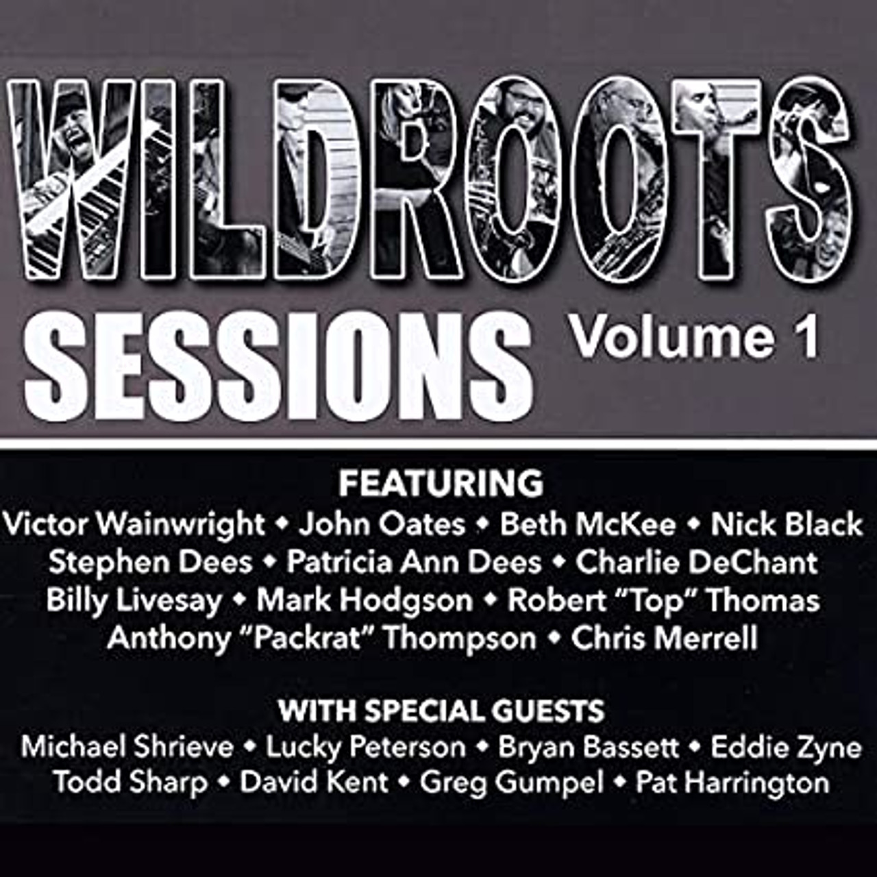 WILDROOTS SESSION VOL 1 FEATURING VICTOR WAINWRIGHT