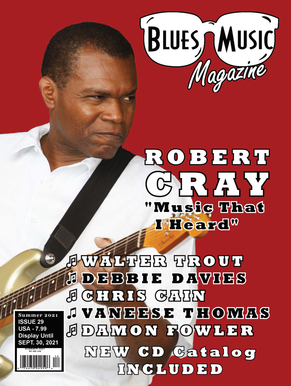 USA ONLY - THE SPRING ISSUE - July 2021 - SINGLE COPY & FREE USA SHIPPING