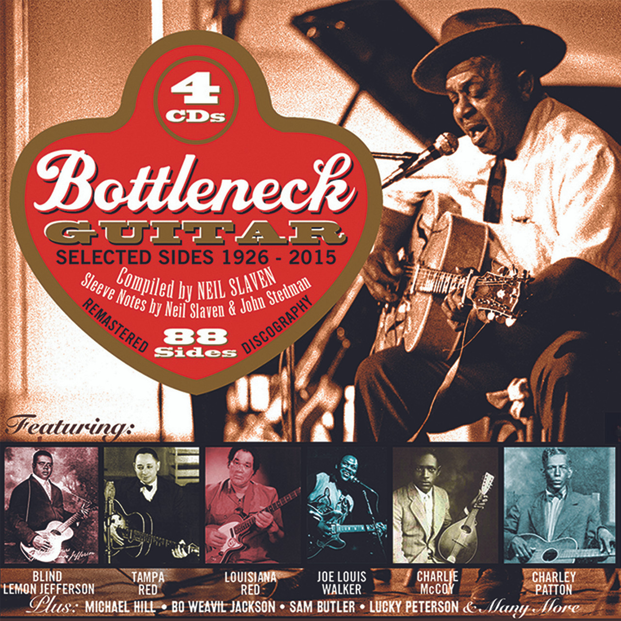 Bottleneck Guitar 1926-2015